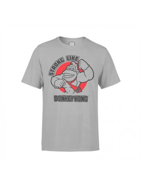 Nintendo Gym Tee: Strong like Donkey Kong