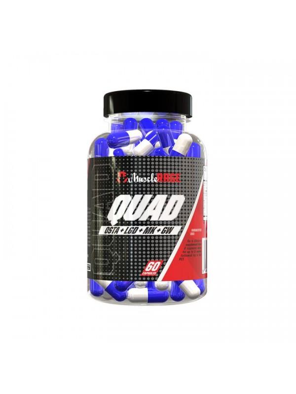 Muscle Rage Quad 60caps