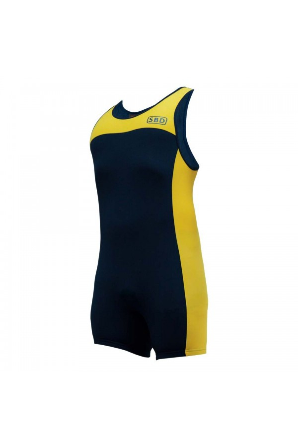 SBD SINGLET (Navy/ Yellow)