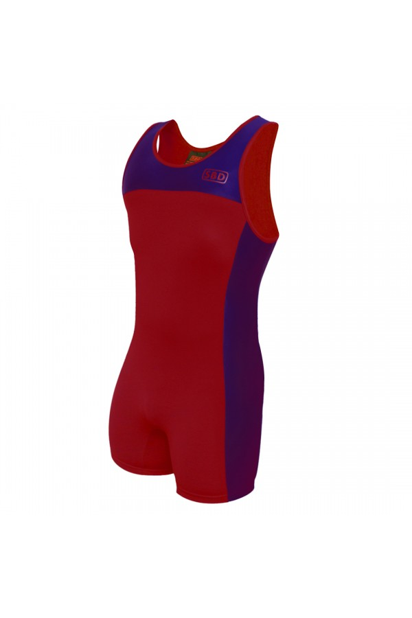 SBD Singlet (Limited Edition Navy/red)