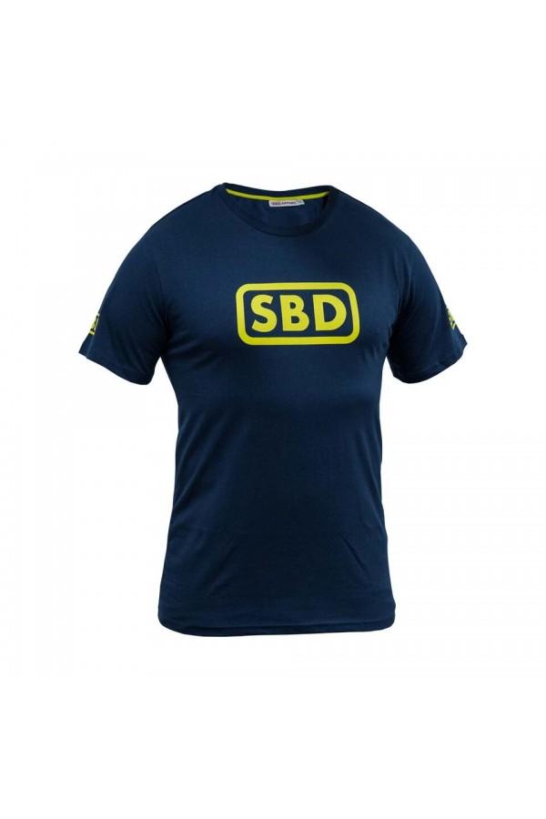 SBD Tshirt Mens (Navy/ Yellow)