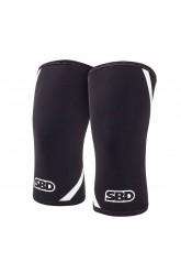 SBD Knee Sleeves Winter 2019 Black/ White