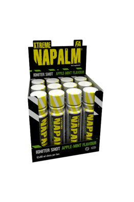 Fitness Authority - Xtreme Napalm Igniter Shots - 12 x 60ml
