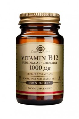 Solgar - Vitamin B12 1000ug - 100caps