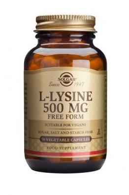 Solgar - L-Lysine 500 mg - 50 Veg Caps