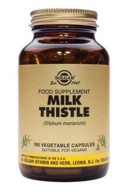 Solgar - Milk Thistle Vegetable - 100 Caps