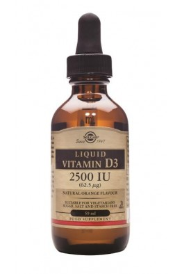 Solgar - Liquid Vitamin D3 2500 IU (62.5µg) - 59ml
