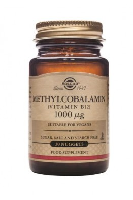 Solgar - Methylcobalamin (Vitamin B12) 1000µg - 30 Nuggets