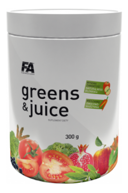 Fitness Authority - Greens & Juice - 400g - EXP: 07/2017
