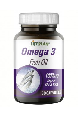 Lifeplan - Omega 3 - Fish oils - 90 Caps