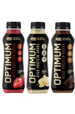 Optimum Nutrition OPTIMUM HIGH PROTEIN SHAKE 500ml (10 Bottles)