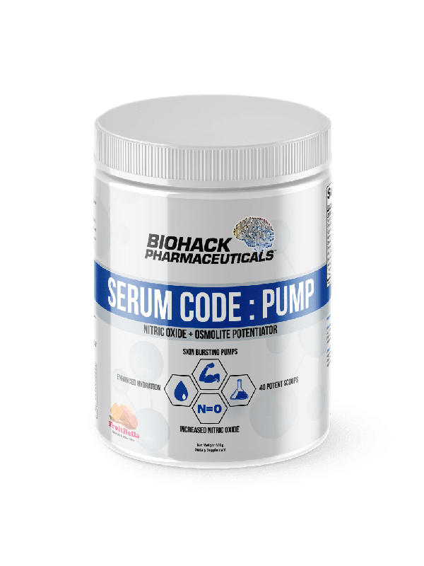 BioHack Serum Code - Pump 600g