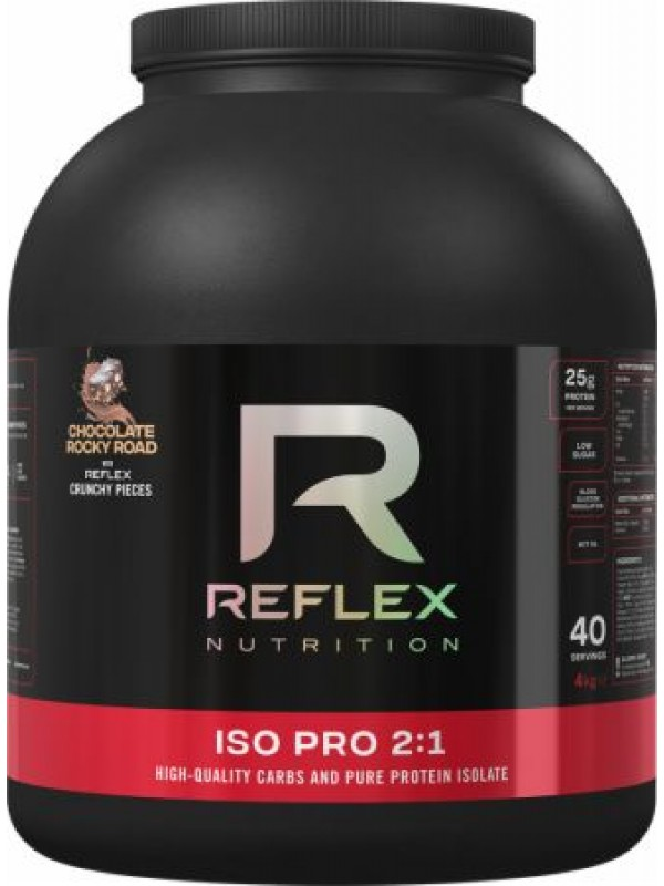 Reflex ISO PRO 2:1 4kg + FREE BCAA Caps