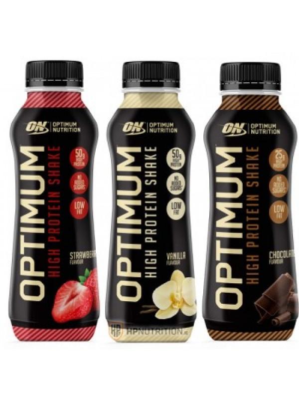 Optimum Nutrition OPTIMUM HIGH PROTEIN SHAKE 500ml (10 Bottles)