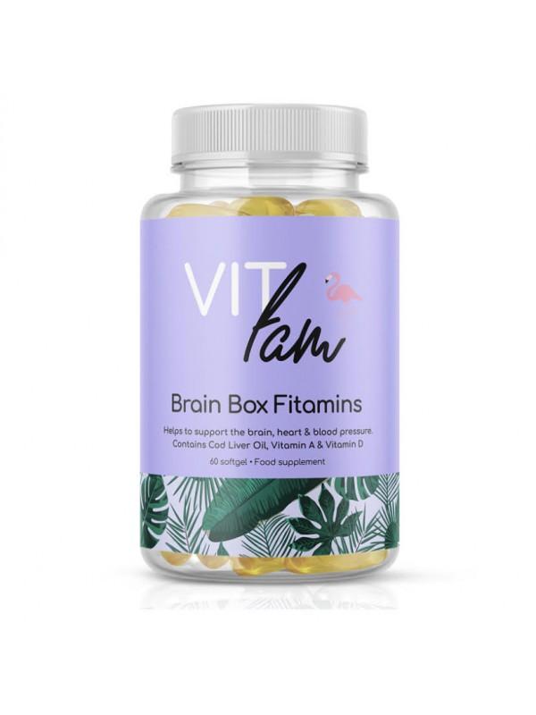 VIT-Fam Brain Box Fitamins 60 Softgels