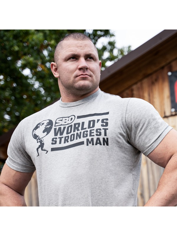 SBD World's Strongest Man T-Shirt (Men's)
