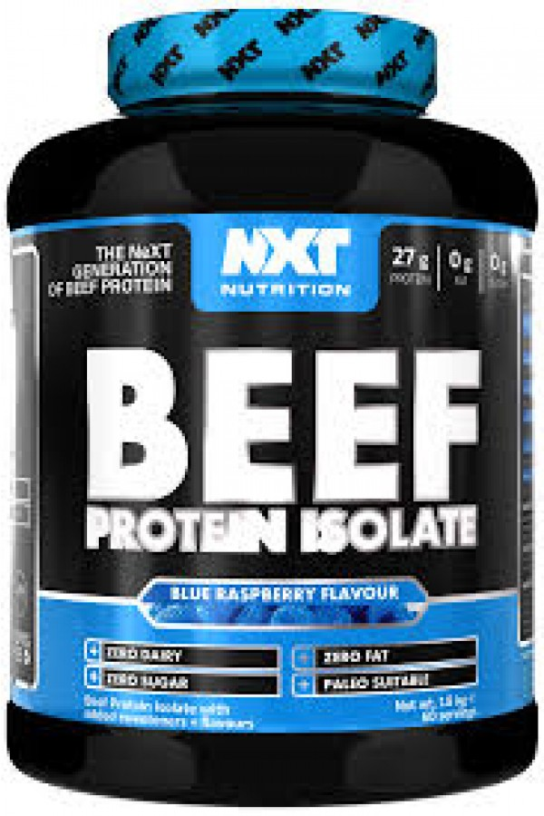 NXT Beef Protein Isolate 1.8kg (60 Serv)