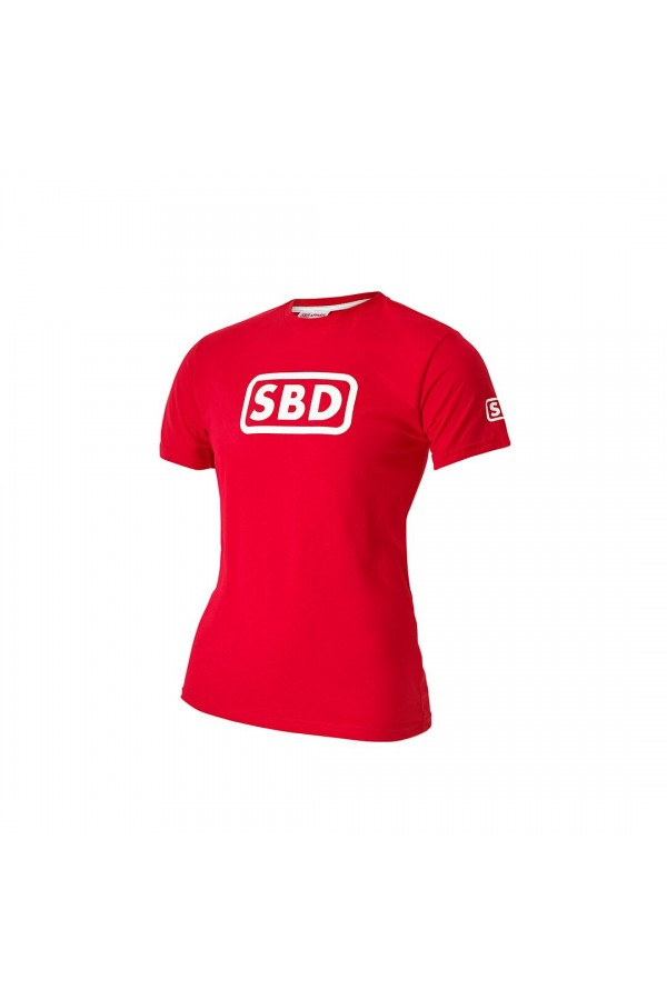 SBD Summer 2019 Limited Edition T-shirt Red/ White