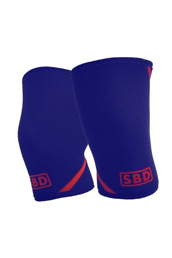 SBD Knee Sleeves (Limited Edition Navy/red)