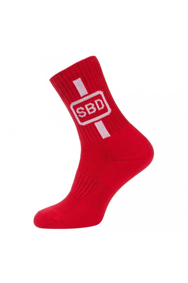 SBD Summer 2019 Limited Edition - Sports Socks Red/ White