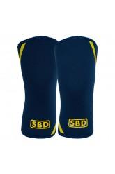 SBD KNEE SLEEVES (Navy/ Yellow)