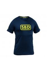 SBD T-SHIRT Ladies (Navy/ Yellow)
