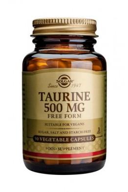 Solgar - Taurine 500mg - 50 veg caps