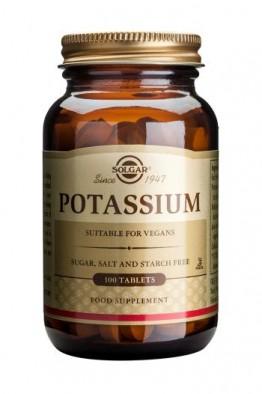 Solgar - Potassium - 100 Tablets
