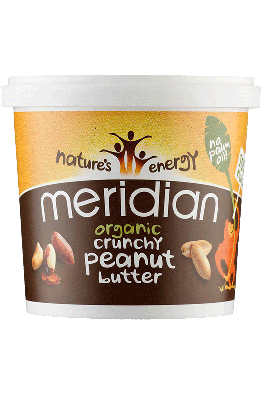 Meridian - Organic - Crunchy Peanut Butter - 1kg