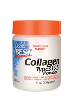 Doctor's Best - Collagen - Types 1 & 3 Powder (200 g)