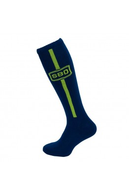SBD - Deadlifting Sock (Navy/ Yellow)