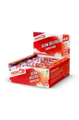 HIGH5 Slow Release Energy Bars 40g x 16 (Full Box)
