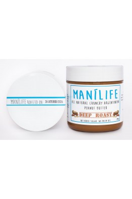 Manilife - Deep Roast Peanutbutter -