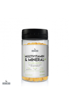 Supplement Needs - Multivitamin & Mineral + - 120 Tablets