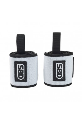 SBD Wrist Wraps Winter 2019 Black/ White