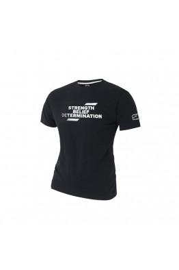 SBD ECLIPSE Slogan T-SHIRT WINTER 2019 BLACK/ WHITE