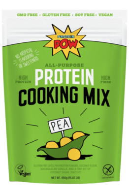 Protein Pow - Vegan Pea Protein Pow Cooking & Bar Mix - 450g -BEST BEFORE 09-04-17