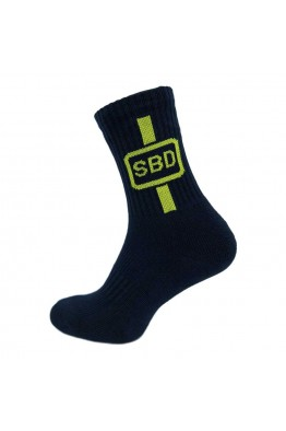 SBD - Sports Sock (Navy/ Yellow)