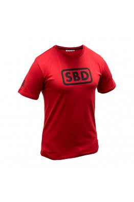 SBD T-Shirt (Limited Edition - Red) (Male)