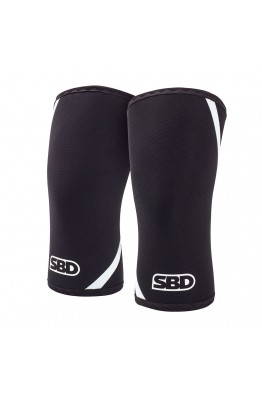 SBD Knee Sleeves Winter 2019 Black/ White