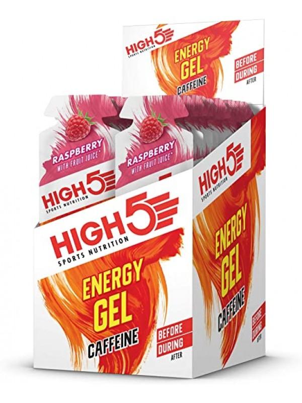 High5 Energy Gel + Caffeine - 38g (Box 20)