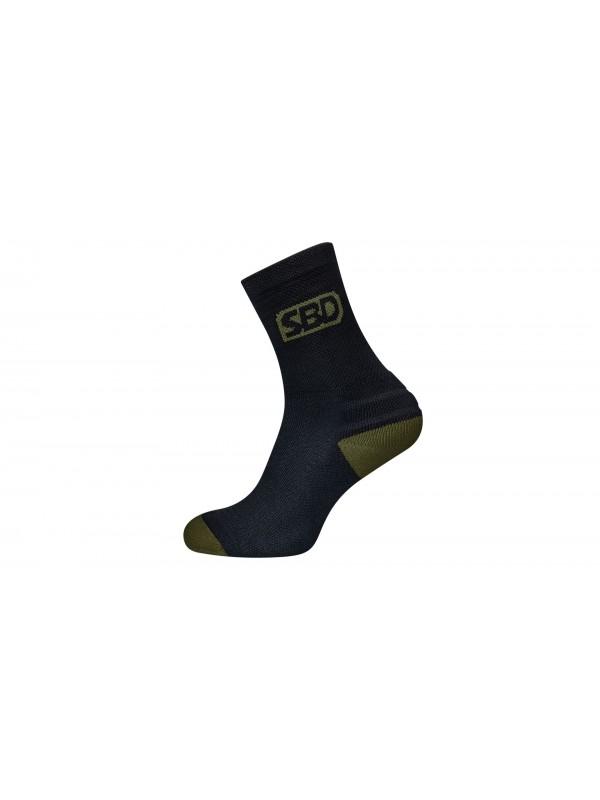 SBD Endure Sports Socks - Black