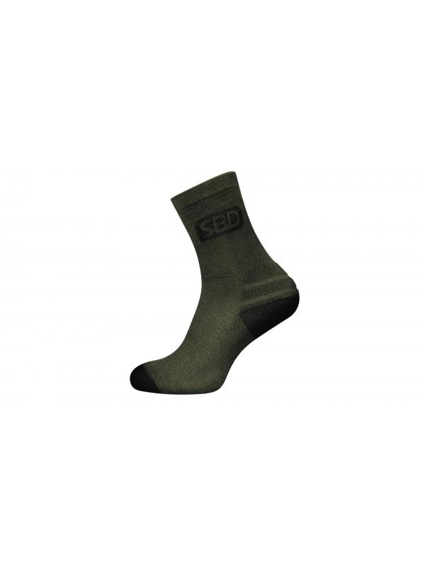 SBD Endure Sports Socks - Green