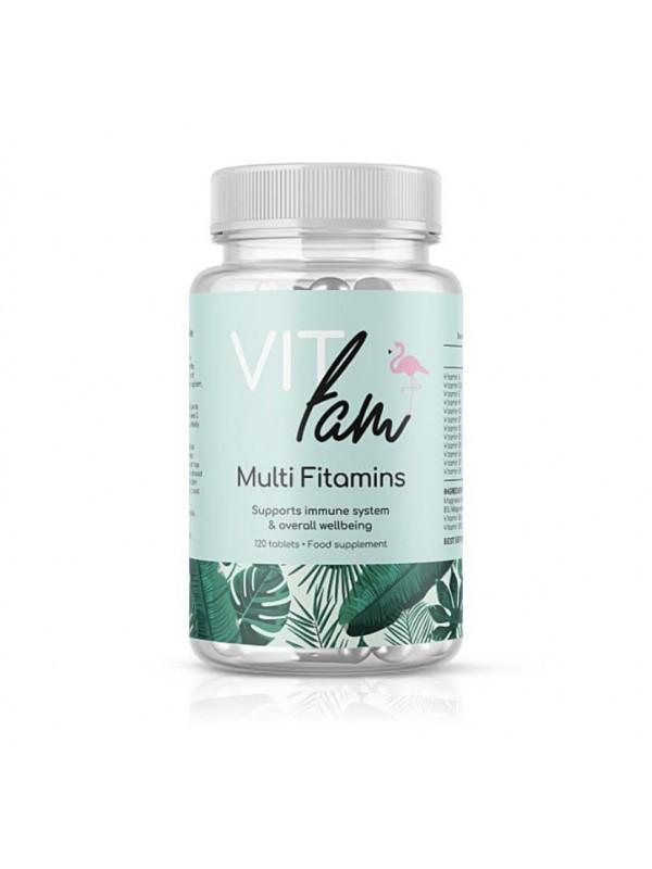 VIT-Fam Multi Fitamin 120Tabs