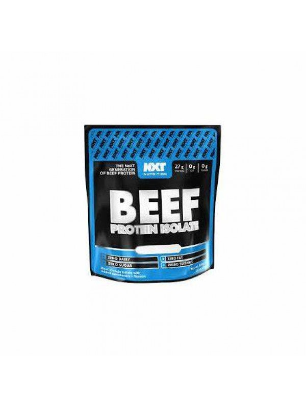 NXT Beef Protein Isolate 600g (20 Serv) + Free Shaker