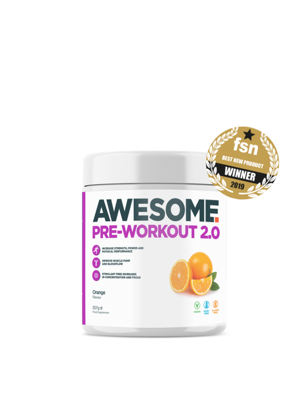 Awesome Supplements - Pre Workout 2.0 - 320g - Orange