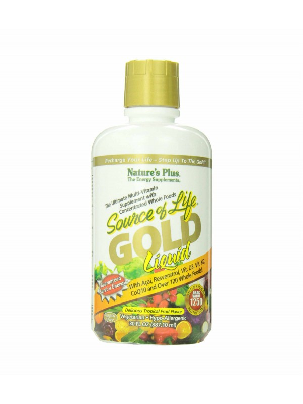Nature's Plus Source of Life Gold Tropical Fruit - 30fl