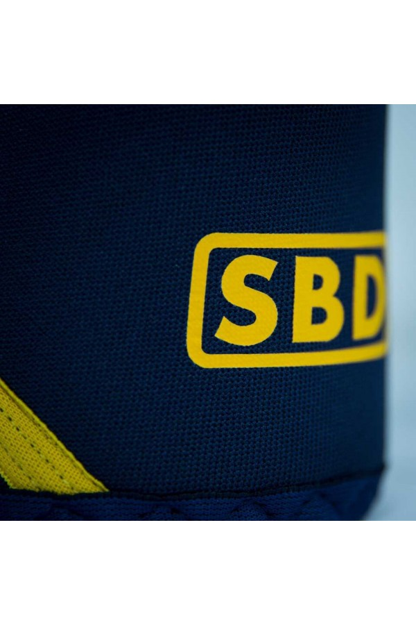 68ffa2a711 SBD KNEE SLEEVES (Navy/ Yellow) Performance Nutrition Plus